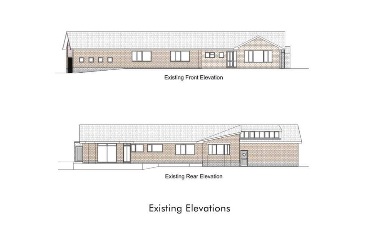 Sheffield House Extension Drawings