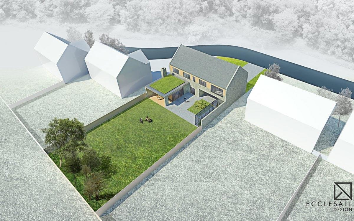New build house design Sheffield