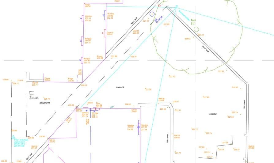 Topographical Survey Architectural Design