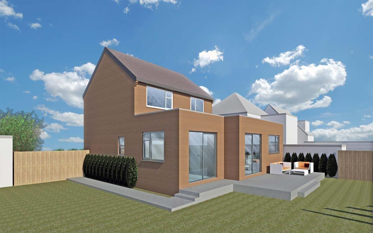 Sheffield Architect Rear House Extension