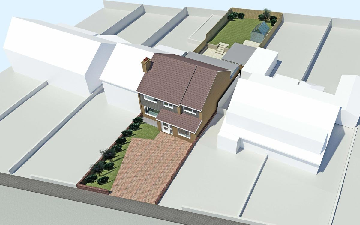 Sheffield Architect Side and Rear Extension
