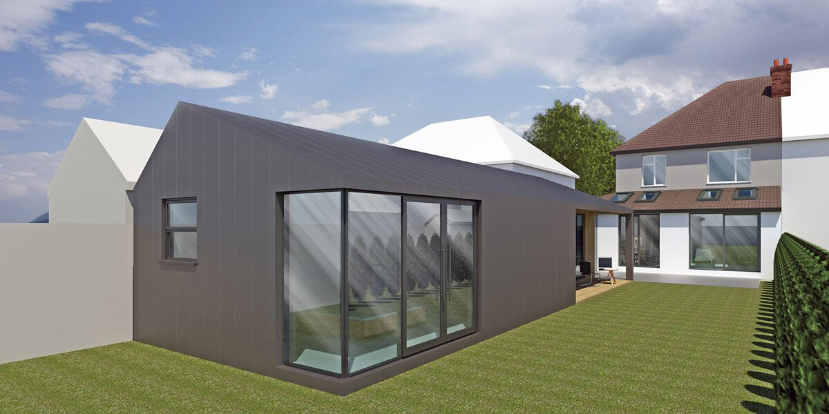 Bents House Extension and Annexe
