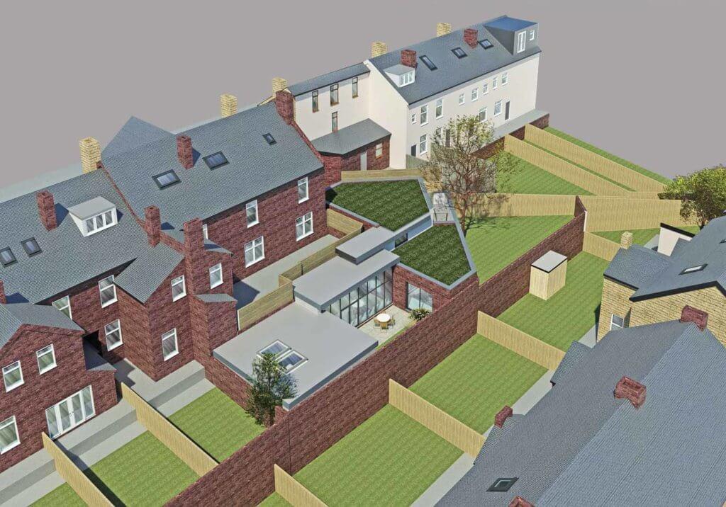 Sheffield greenfield development architect