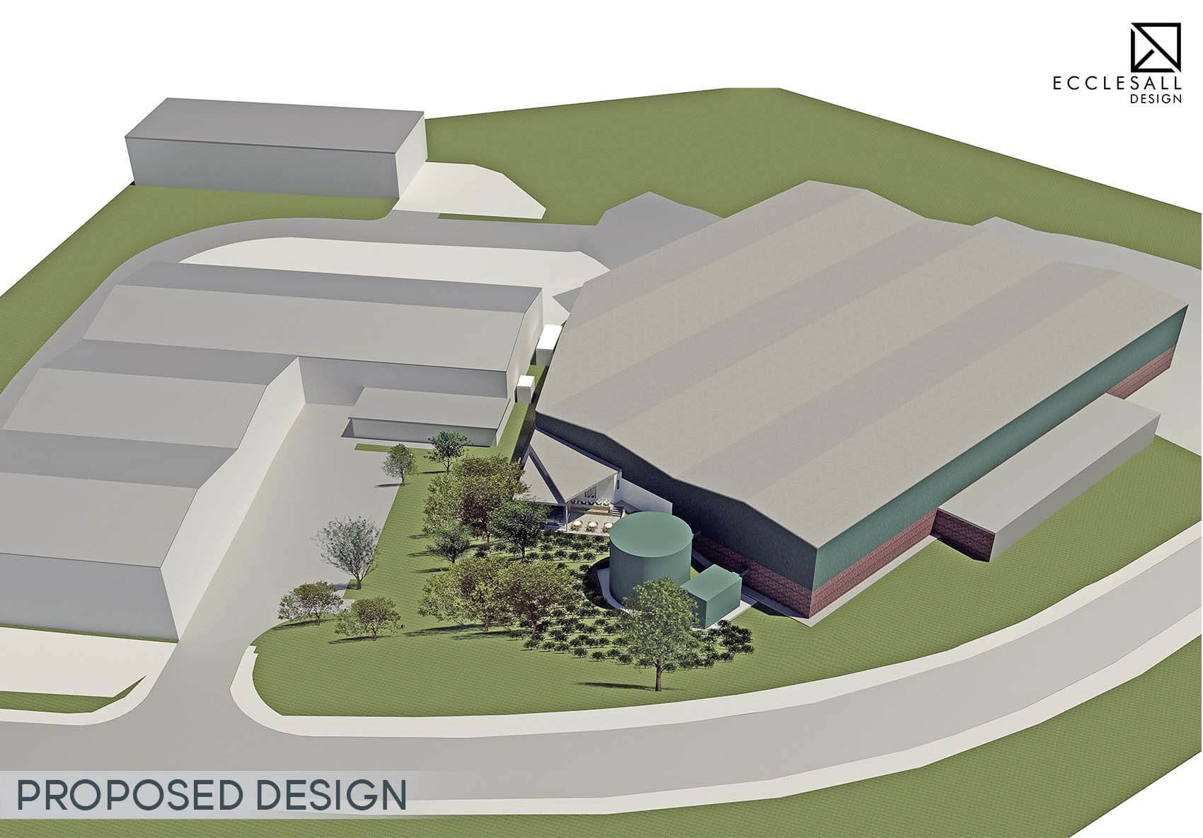 Industrial Factory Commercial Property Extension