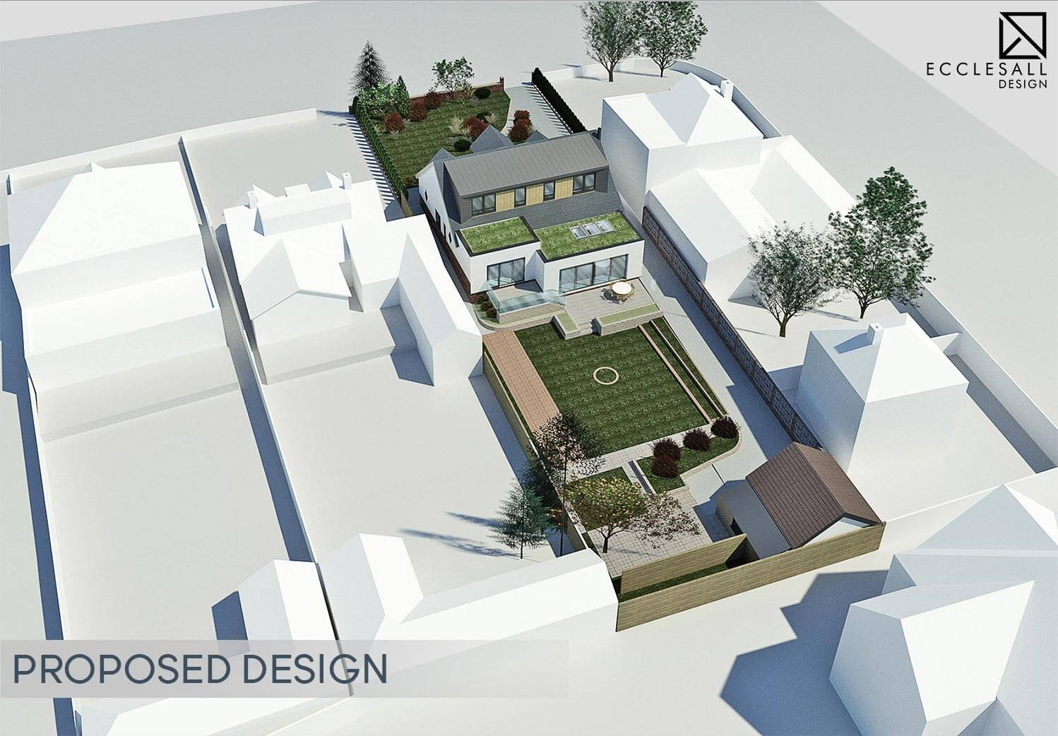 Sheffield House Extension & Remodelling Abbey House