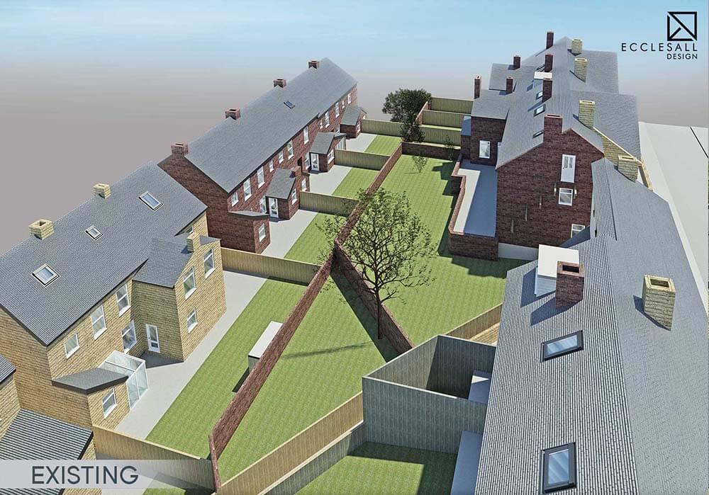 Sheffield Cross Lane New Build House