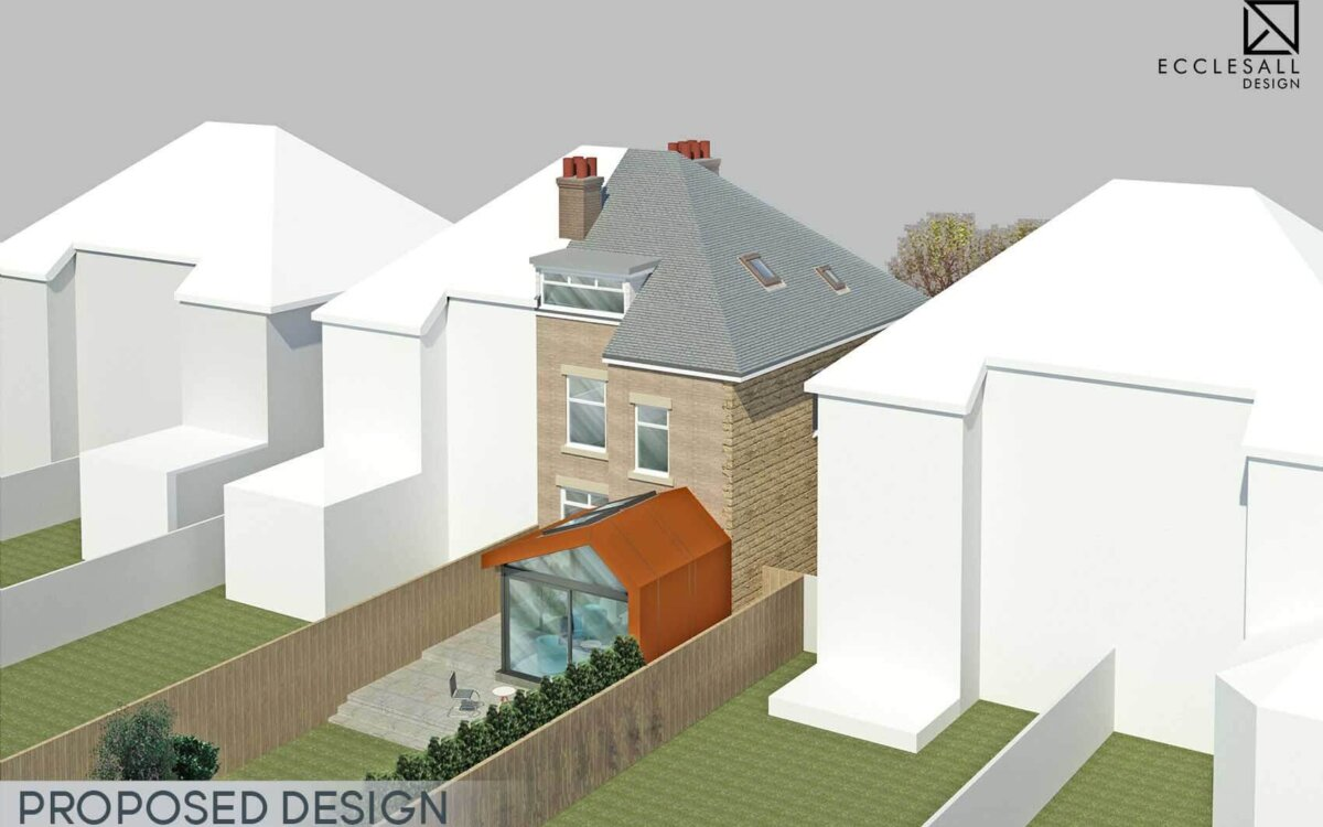 Sheffield Millhouses House Extension