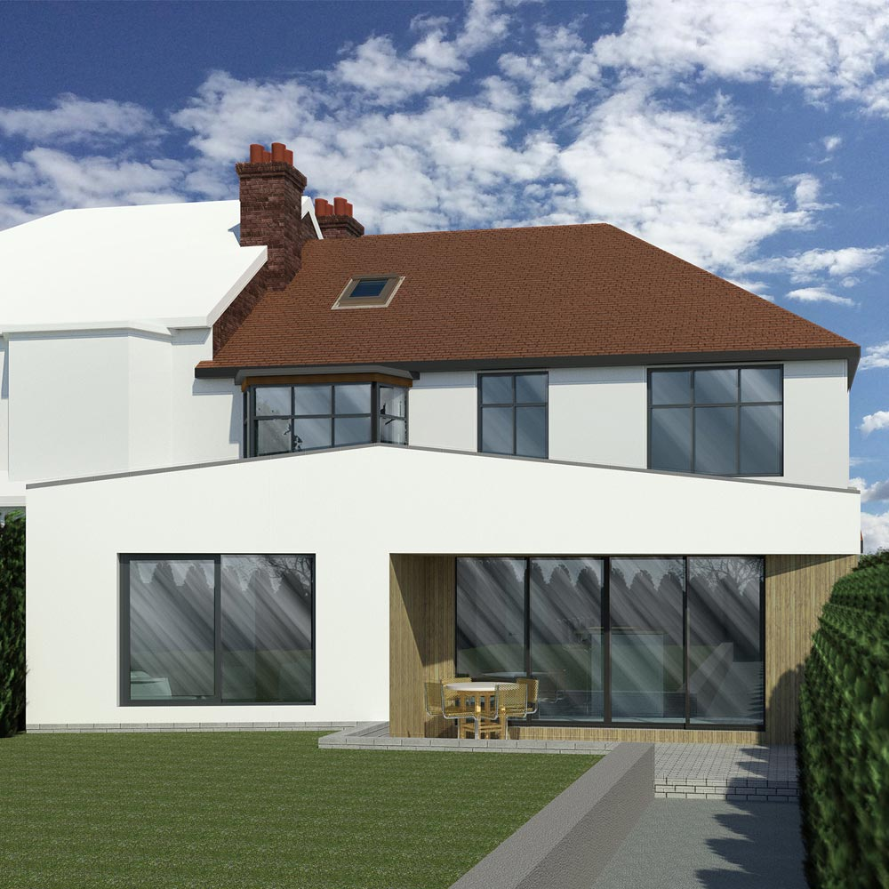 Size And Complexity Of House Extension - Ecclesall Design