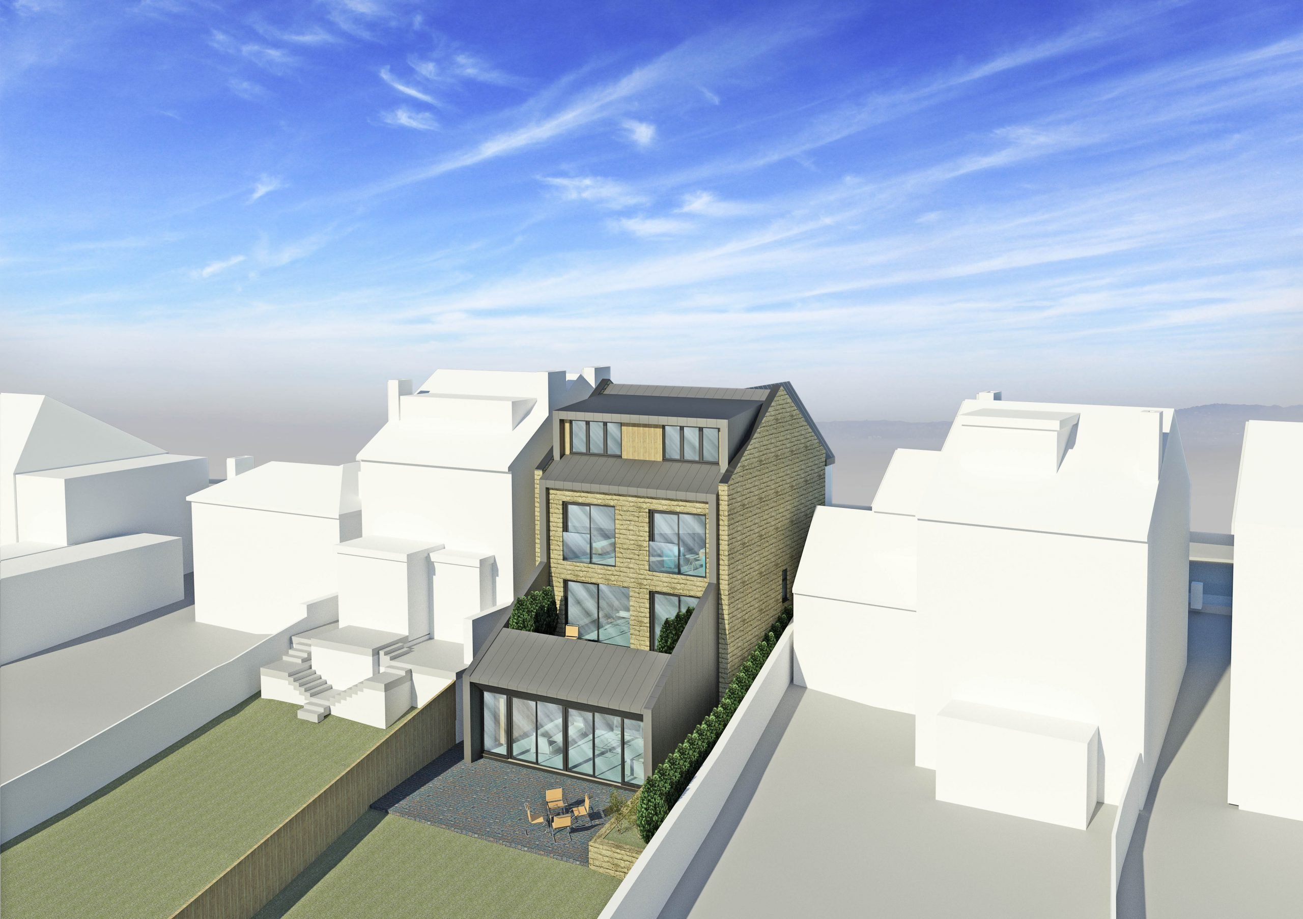 Modern New Build House in Sheffield Nether Edge Area