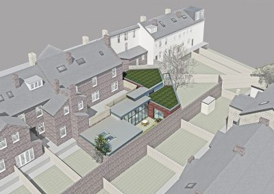 New Build House Architect Sheffield, Backland Development